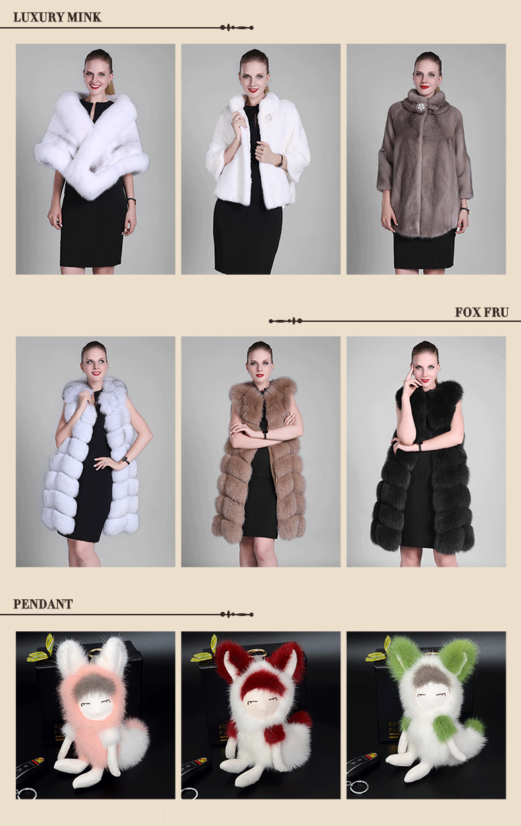 Wholesale High Quality Natural Coyote Fur Lined Parka For Women