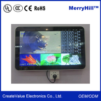 Full HD 1080P 21.5 Inch Indoor Digital Advertising Display Screens For Sale