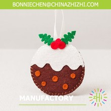 new style Delicious fruit Christmas felt ornaments