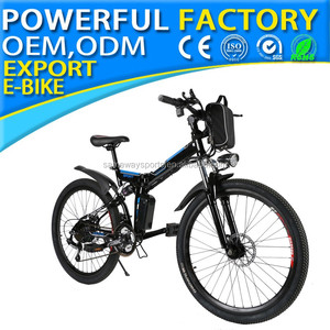 "2018 electric bike folding mountain bicycle with 48v foldable LO26"" NEW 02"