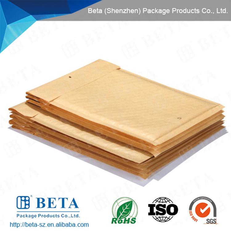 High Quality Wholesale Padded Envelope Kraft Bubble Mailers