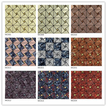Hangzhou religious stainless steel mosaic wall tile for modern kitchen designs at low price