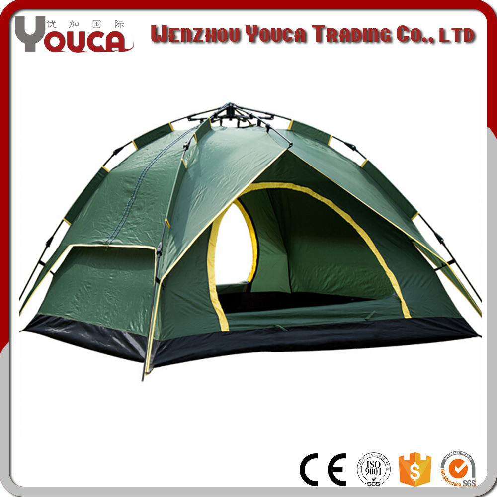 Polar Cold Mountain Outdoor Dual Automatic 3-4 Automatic Human Leisure Tent Camping Camping Tent Wholesale