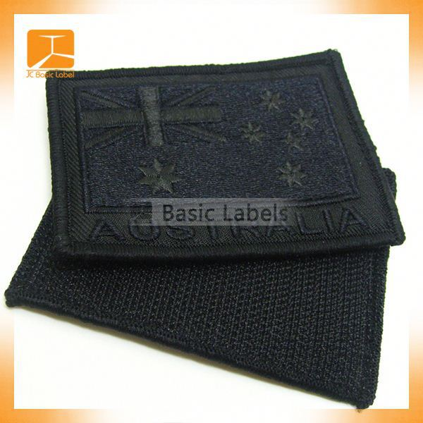 Custom security embroidery badges emblems for Jacket