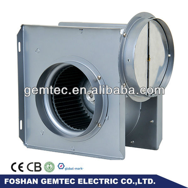 4 Inch Circular Pip Electric In-line Duct Fan with Stainless Steel Impellers