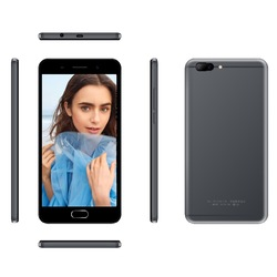 2017 top selling 5.5 inch 4g HD IPS Android 6.0 7.0 smartphone mobile phone dual Rear Cameras front fingerprint smart phone