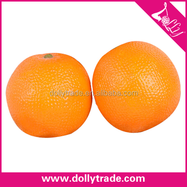 life size artificial fake orange fruit for home decoration