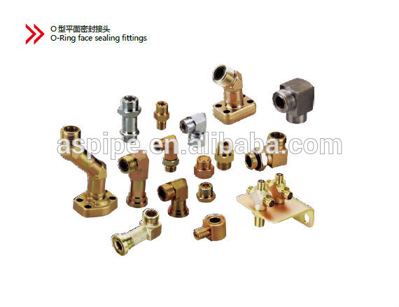 hydraulic fitting and adapters