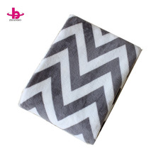 Comfortable plush faux fur flannel baby blanket super soft baby flannel blanket baby Fleece Blanket Throw
