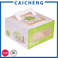 China Manufacturer Cake Paper Box Cupcake Box