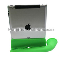 Sale Fashionable Silicone Wireless Speaker Stand Amplifier for Apple iPad 2/3