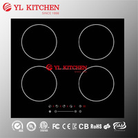 Wholesale slide control four burner induction stove /cooker