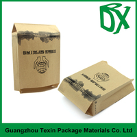 China product cheapest price matte finish printed potato chips paper bag pouch packaging