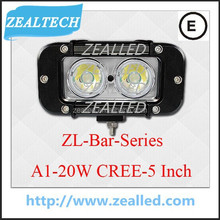 Made from C.ree Truck led bar 20W 5inch for car LED bar car working bar C REE-XML-T6