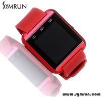 Symrun New Bluetooth Wifi Silicone Smart Watch U8 Smartwatch For Android And Ios Mobile Phone wholesale smartwatch