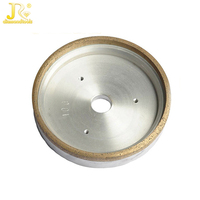Metal Bond Glass continuous diamond grinding cup wheel for straight line edge machine
