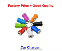 Factory Price 5V 1A Mini USB Cheap Car Charger For Cell Mobile Phone Charger Adapter