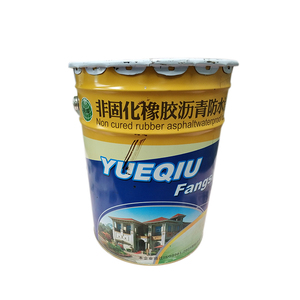 YUEQIU Non-Curing Rubber Spraying Paint Quick-Setting Rubberized Asphalt Waterproof Coating