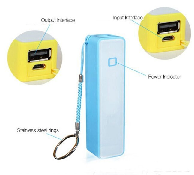 Hot Perfume Mobile Phone Charger 2600mah Power Bank Source Supply