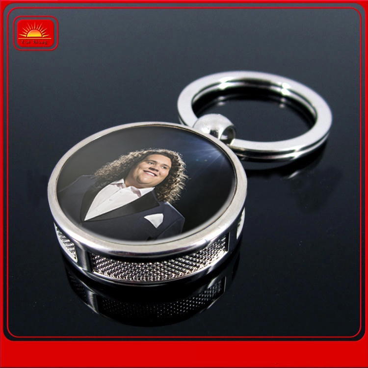 promotional gift custom metal keyring and metal keychain