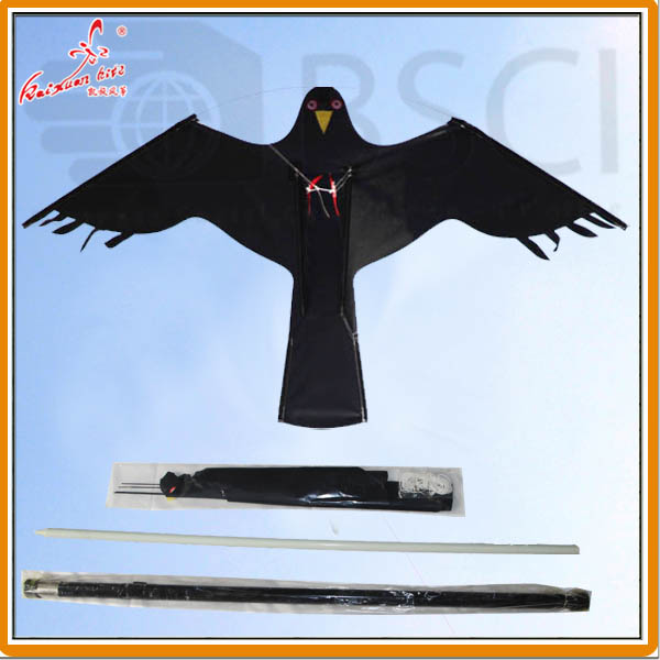 10m telescopic pole for scaring bird