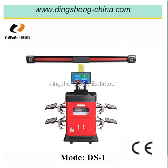 Manual and Automatic Double Use 3D Wheel Alignment