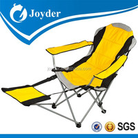 recliner chair Customized new style beach camping chair recliner chair with footrest