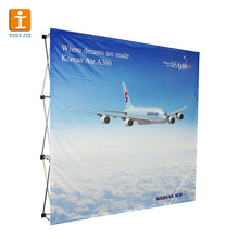 Tongjie TY 10ft portable pop up banner stand display with LED light