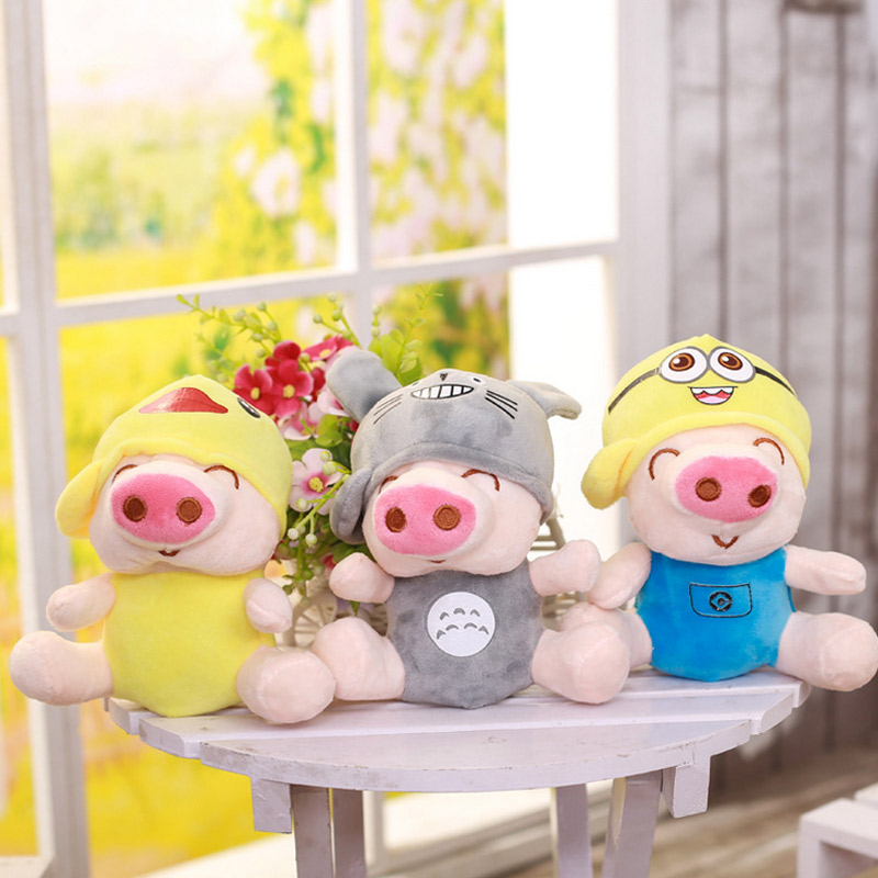 Kawaii Multi Modeling Pig Doll Stuffed & Plush Animals Toys For Child