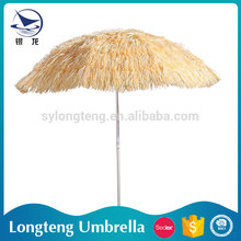 Custom Design Factory wholesale Outdoor Garden use wood garden umbrella wind