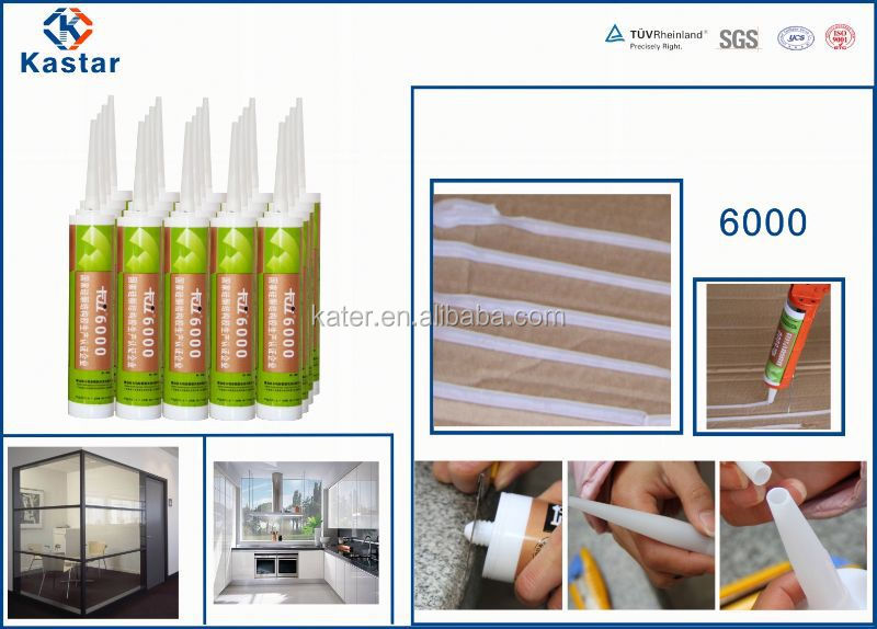 China supplier excellent quality bathroom acrylic silicone sealant