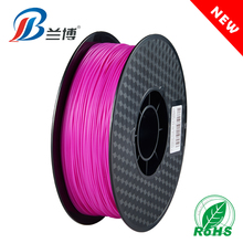 Wholesale price Purple red PLA ABS 1.75 1KG/ROLL 3d print filament for 3d printer