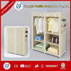 Bedroom Closet Wood Wardrobe Cabinets Portable