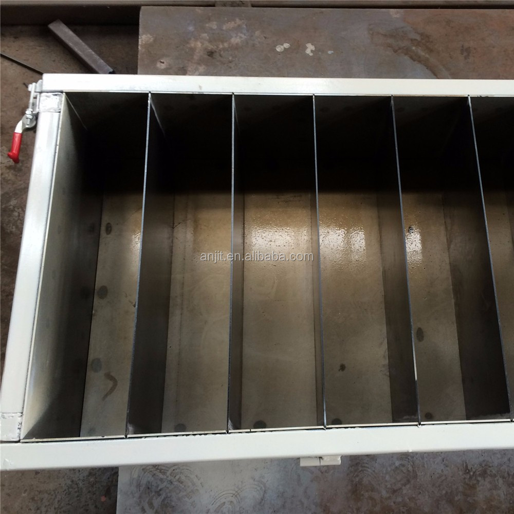 manual block mold for lightweight concrete blocks