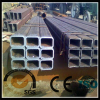 ASTM A283 GrB large size rectangular and square section steel pipe