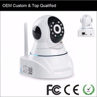 Wireless Mini CCTV Dome Phone Camera with SD Card TF Card HD Network Wireless P2P IP Pan and Tilt WIFI PTZ Camera