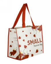 laminated fabric photo printed shopping bag