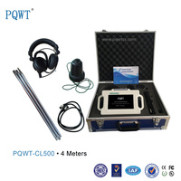 PQWT-CL500 Ultrasonic Underground Pipes Water Leak Detector 4M
