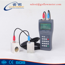 1.0% High Accuracy and Local LCD Display Portable Ultrasonic flowmeter