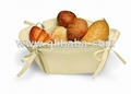100%cotton bread basket for food