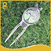 Bulk golf divot repair tools or gof pitchforks with tree crystal golf ball markers