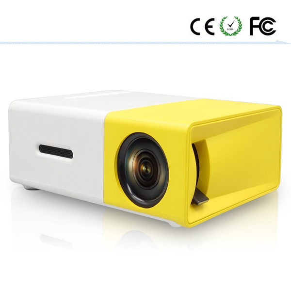 2017 new product yg300 portable phone bank power 3d mini <strong>projector</strong>