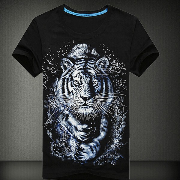 2015 New Design Cheap High Quality T-shirt wolf for men