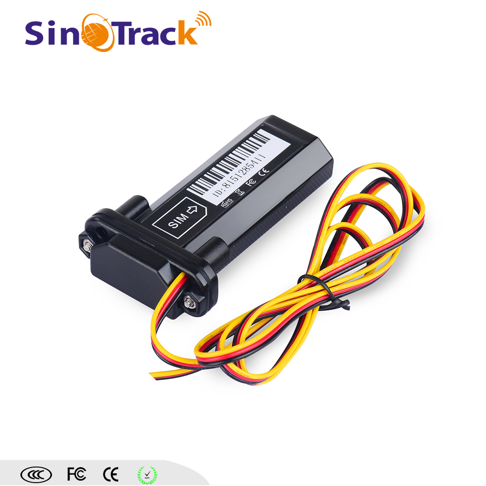 Real-time monitoring car vehicle gps tracker with internal antenna