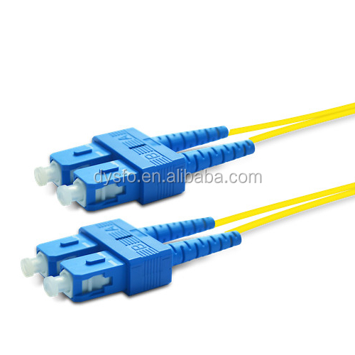 Fiber jumper OEM Factory High Quality FTTH SC/LC/FC/ST/MTRJ Fiber Optic Patch Cord