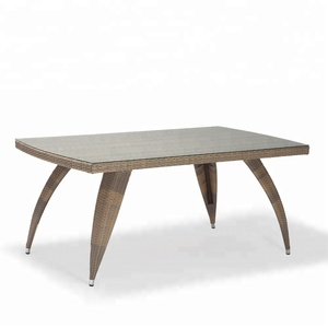 indonesian round oak wood coffee table