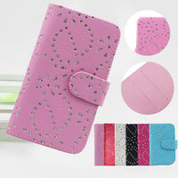 Wholesale Elegant Stand Wallet Flip Leather Case for Wiko Cink Peax 2 4.5