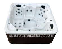 Best (L-520) Acrylic Spa Bathtub for Massagewith Lusite Acrylic spa shell