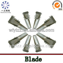 turbine compressor blade--Lost wax casting