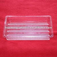 Transparent BOPS plastic food tray/plastic food packages